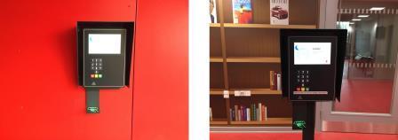 Indgang til Jægerspris Bibliotek