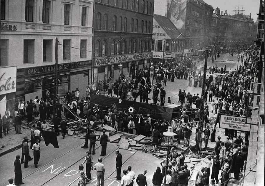 Folkestrejken i 1944